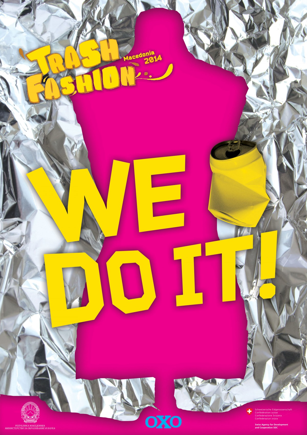 Trash Fashion Macedonia 2014 poster